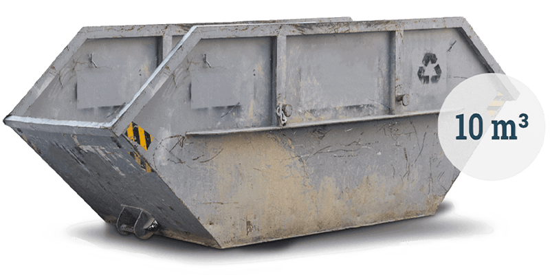 10m³ Container für Siedlungsabfall