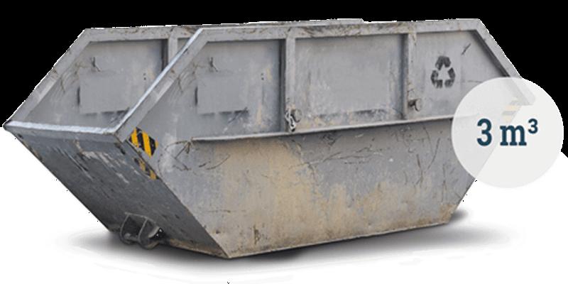3m³ Bauschuttcontainer