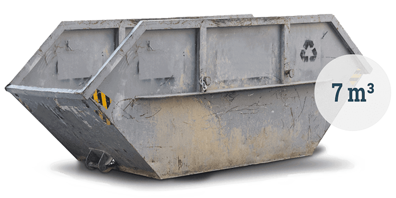 7m³ Schuttcontainer