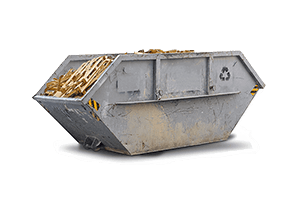 Container für Bauholz