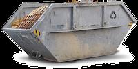 Container für behandeltes und imprägniertes Holz