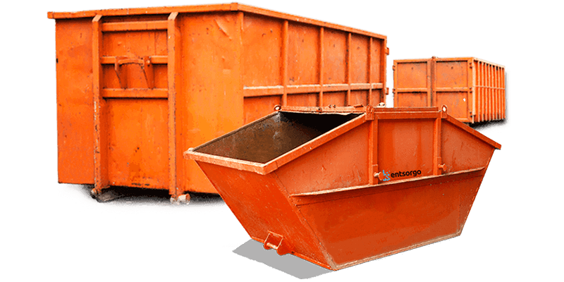 Abrollcontainer für Bodenaushub