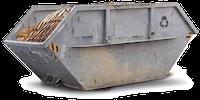 Altholz entsorgen mit Container