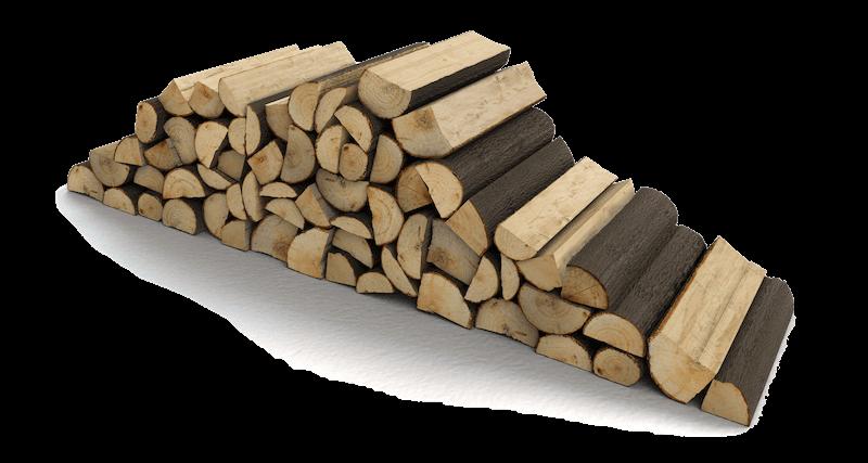 Baumschnitt als Feuerholz