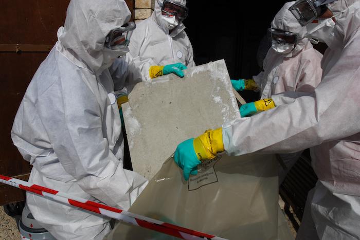 Wie entsorgt man Asbest