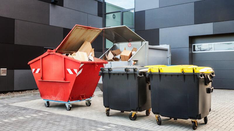 Abfalllogistik für Unternehmen