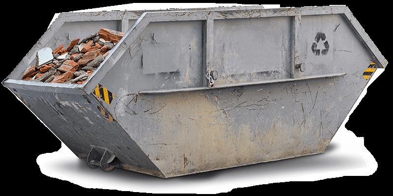 Bauschutt Container mieten und entsorgen