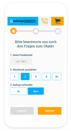 Containerdienst online Duesseldorf
