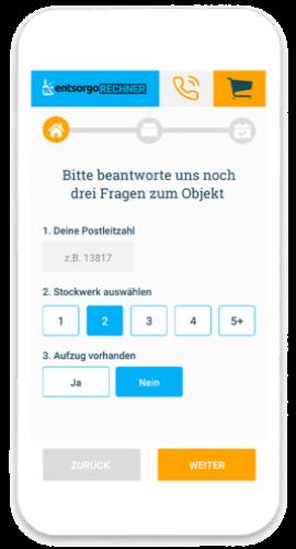 Containerdienst online Muenster