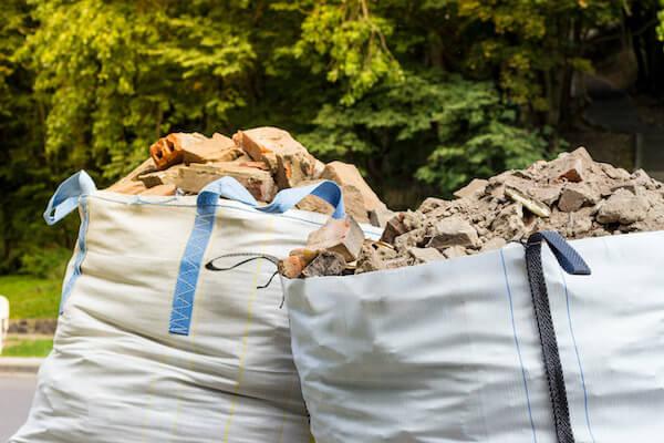 Bauschutt Big Bag entsorgen