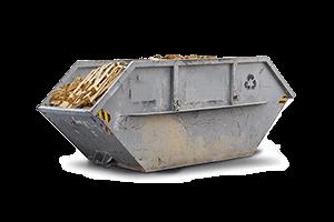 Container für behandeltes Holz